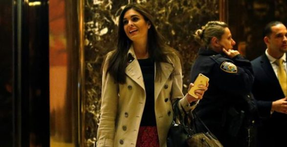 Reports: Hope Hicks To Become White House Communications Director