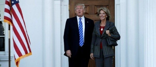 Senate Dems Opposing Trump's Ed Sec Nom Attended Private Schools