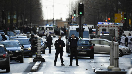 Paris police shoot dead man with knife in 'likely' terror attack