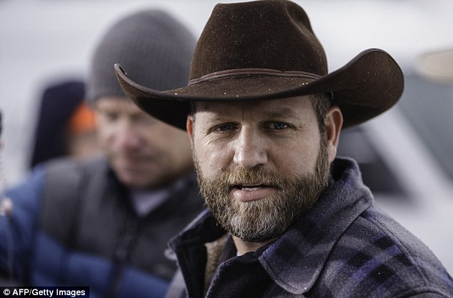 BREAKING NEWS: Oregon militia member is shot dead as routine traffic stop escalates into shoot-out with the FBI that ends with leader Ammon Bundy arrested and his brother Ryan wounded