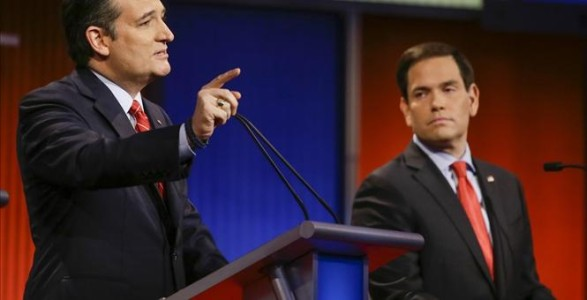 Battle For Iowa: Rubio Shines, Cruz Holds His Ground