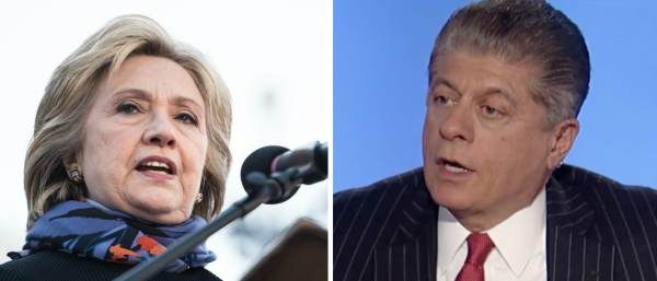 Judge Napolitano: Evidence Against Clinton Is 'Overwhelming' and 'Damning'