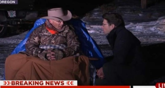 LaVoy Finicum — the Oregon militant beneath the blue tarp — killed in police shootout: reports