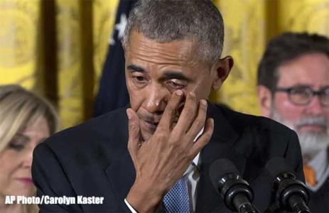 Obama-Crying