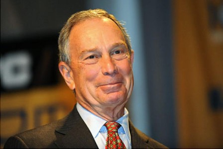 Independent? Hardly. Michael Bloomberg's Campaign Donations Swing Left