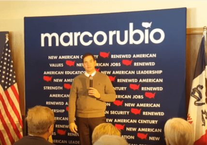 Marco Rubio Answers Atheist on Question of Faith