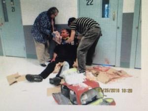 "Washington: Muslim Prisoner Shouting ""Allahu Akbar!"" Tried to Behead Corrections Officer"