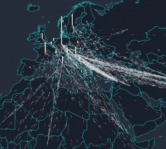"THE ISLAMIC INVASION ""HIJRA"" OF EUROPE – Realtime Interactive Map"