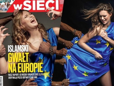 SHOCK COVER: 'Islamic Rape of Europa' – Polish Mag Shows Brutal Attack by Migrants