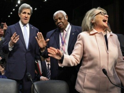 John Kerry Used Private Email to Send Classified Material to Hillary Clinton