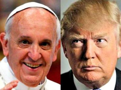 Border Wall: Pope Attacks Donald Trump: 'Not Christian' — Trump Responds