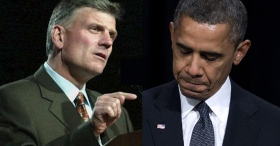 Rev. Graham's BRUTAL response to Obama's mosque speech is going viral