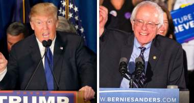 New Hampshire: It's Donald and Bernie for the Win