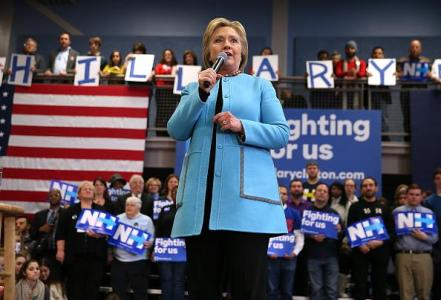 Clinton: Sanders Accepted Wall Street Money Too, Indirectly