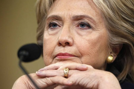 The Hillary Clinton Moment That Has Drudge Asking, 'What's Wrong With Her?'