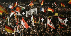MASS anti-Islam protests break out across Europe; look who showed up in the crowd…