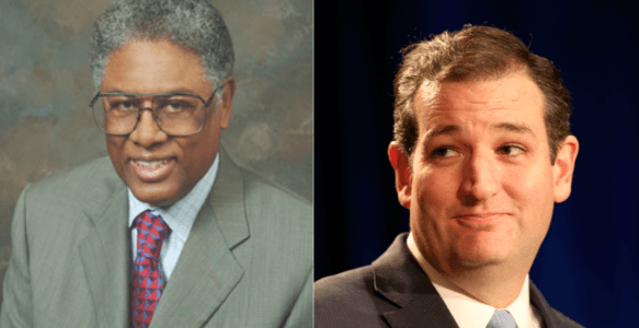 Thomas Sowell Endorses Sen. Ted Cruz