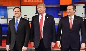 trump ted and marco