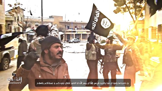 English-speaking ISIS jihadi warns America they will be attacked 'very soon' and 'by Allah's permission do to your country what we did to Paris'