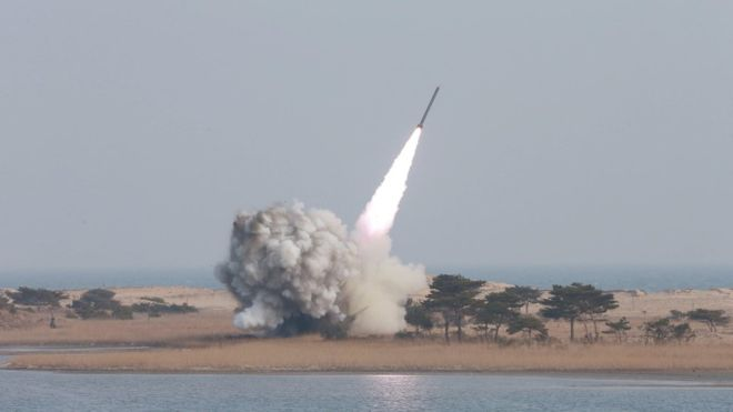 North Korea 'has miniature nuclear warhead', says Kim Jong-un