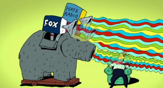 UNREAL: Brainwashing Blames Conservative Media for Hate – VIDEO