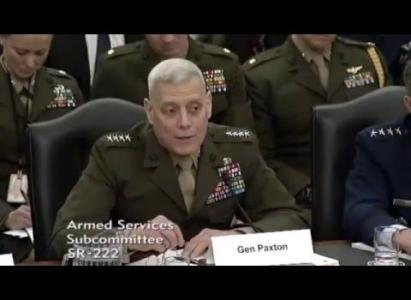 GENERAL PAXTON: MORE RISK, GREATER COSTS AND CASUALTIES