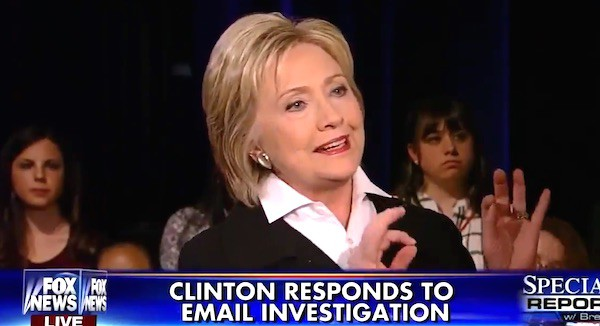 Hillary email 'word game' exposed during town hall