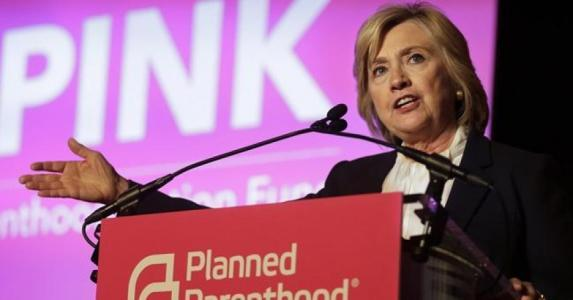 Clinton Campaign Writes Checks to Planned Parenthood