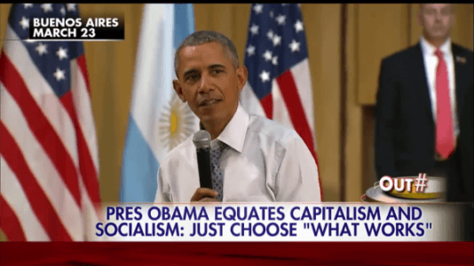 Obama: 'There's Little Difference Between Communism and Capitalism' – WATCH