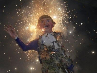 Mexico Adds Trump to Easter Tradition, Sets Him on Fire