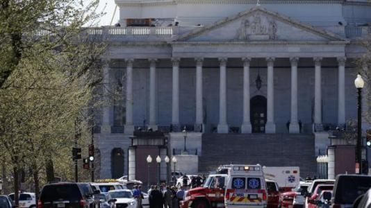 Update 4 - US Congress gunman arrested, lockdown lifted