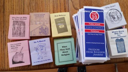 Atheist and satanic literature to be made available to middle and high school students