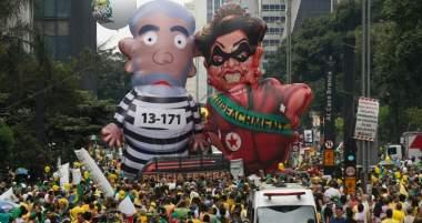 Biggest Brazil Protests Ever Threaten Communist Movement