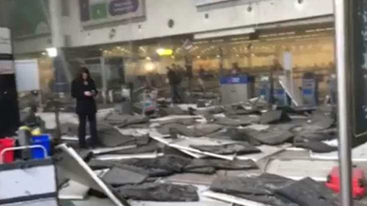 Brussels Airport And Metro Blasts: Live