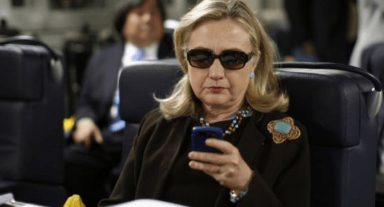 Report: Knowing the Risks, Hillary Sent Dozens of Emails on Her BlackBerry From Russia, Vietnam, and China – VIDEO