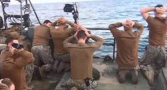 Iran to Create Statue Depicting Surrender of U.S. Sailors