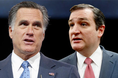 Mitt Romney: 'I Will Vote For Senator Ted Cruz'