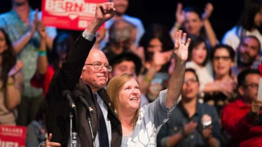 Big wins give Sanders a boost