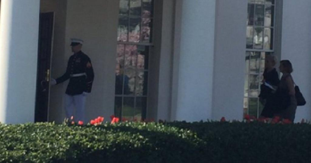 ALERT: Look Who Was Spotted at White House IMMEDIATELY After Obama's SCOTUS Pick