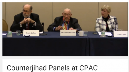 CPAC 2016—Countering the Global Jihad Panel Exposes Islamist Influence Operations