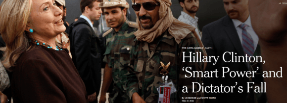 The Times' Attempt to Exonerate Hillary Clinton's Role in Libya