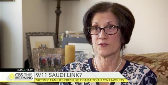 9/11 Widow Slams Obama for Siding with Saudi Arabia Over Sept. 11 Victims