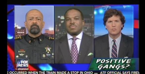 Sheriff Clarke: Clinton's 'Positive Gangs' Remark Shows She's 'Totally Disconnected' From Black Community – VIDEO