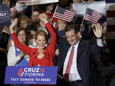 'Elections Are About Choices': Cruz Officially Taps Fiorina as His Running Mate – WATCH