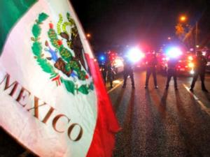 Anti-Trump Protests Rage, Mexican Flags Fly Outside CA Trump Rally – AUDIO