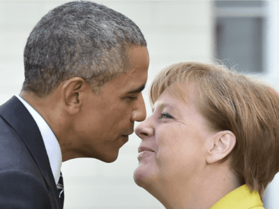 Obama In Germany: Merkel Is On 'Right Side Of History' By Destroying Europe's Borders