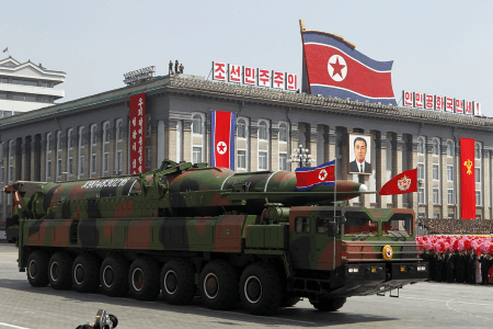 Seoul Claims North Korea Capable of Launching Mid-Range Nuclear Missile