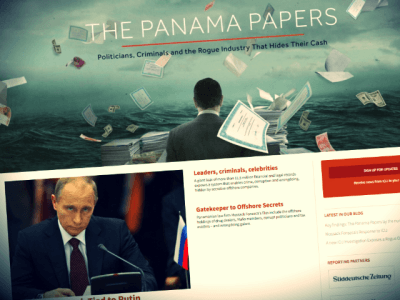 Panama Papers: Media Focuses on 'Putin Link,' But Leak Group Funded By George Soros