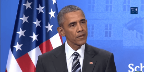"Blatantly Ignoring Reality, Obama anounces ""We Live In A Peaceful Area"""