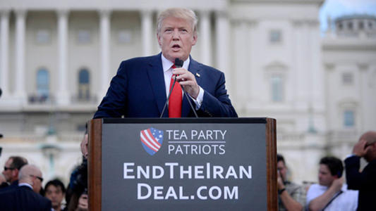 WATCH: Trump Slams Obama for Poor Treatment of Israel and Iran Deal